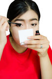 Азиатский состав девушки Стоковые Изображения RF