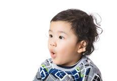 Азиатский сотрясать ребёнка стоковая фотография