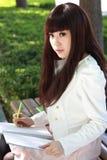 азиатский студент стоковые фото