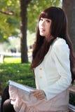 азиатский студент стоковые изображения