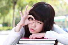 азиатский студент стоковое фото
