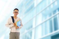 Азиатский студент университета Стоковая Фотография RF