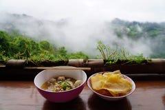 азиатский суп лапши Стоковая Фотография