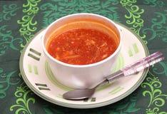 азиатский суп Стоковая Фотография RF