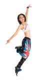 Азиатский танцор джаза Стоковое Изображение RF