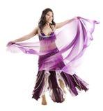 азиатский танцор живота стоковые изображения rf