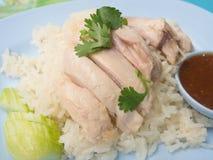 азиатский тип риса hainan крупного плана цыпленка Стоковое Фото