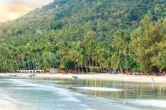 Азиатский тропический рай пляжа Стоковое Фото