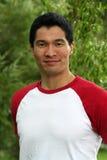 азиатский уверенно красивый мужчина Стоковые Фото