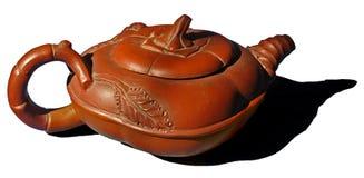 азиатский украшенный чайник Стоковое Изображение