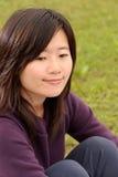 азиатский усмехаться красотки стоковые фото