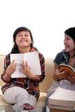 азиатский учя студент Стоковая Фотография