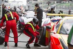 Азиатский фестиваль скорости, гонки GT Азии главным образом, Sepang Малайзии Стоковое Фото