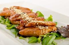 Азиатский цыпленок Стоковое Изображение RF