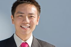 азиатский человек китайца дела Стоковая Фотография RF