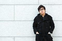 азиатский человек Стоковая Фотография