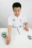азиатский человек Стоковое Фото