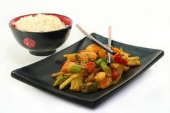азиатский шримс риса Стоковое фото RF