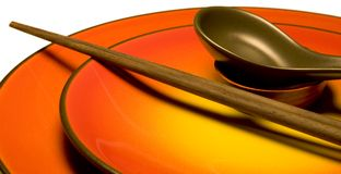 Азиатский kitchenware b Стоковое фото RF