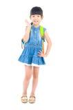 Азиатский preschooler стоковое изображение rf