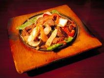азиатский stir fry Стоковая Фотография RF