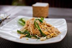 Азиатское блюдо лапши Стоковое Изображение RF