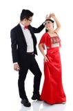 азиатское венчание пар Стоковое Изображение