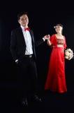 азиатское венчание пар Стоковые Фотографии RF