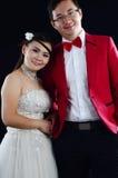 азиатское венчание пар Стоковые Изображения RF