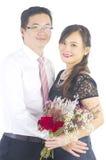 азиатское венчание пар Стоковая Фотография RF