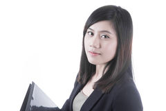 Азиатское дело женщины Стоковое Изображение