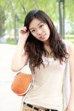 азиатское лето девушки Стоковая Фотография RF