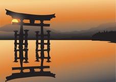азиатское озеро Стоковые Фото