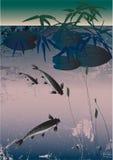 азиатское озеро Стоковое Фото