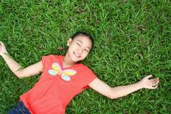 азиатское предназначенное для подростков Стоковые Фото