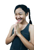 азиатское girl2 Стоковое Изображение RF