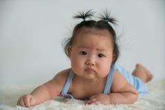 Азиатское gril младенца Стоковая Фотография RF