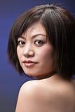 азиатское headshot девушки Стоковое Фото