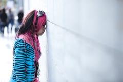 Азиатское lolita стоковая фотография rf