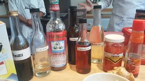 Азиат варя Condiments стоковое фото rf