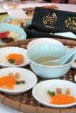 азиат закуски стоковая фотография
