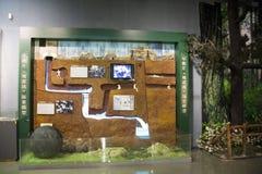 Азиат Китай, Пекин, выставочный зал ŒIndoor ¼ Museumï фильма Китая национальный, Стоковое Изображение RF