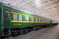 Азиат Китай, Пекин, железнодорожный музей, выставочный зал, поезд Стоковые Фотографии RF