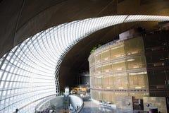 Азиат Китай, Пекин, современная архитектура, национальный грандиозный театр Стоковое фото RF