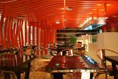 Азиат Китай, Пекин, Taikoo Li Sanlitun, западный ресторан Wagas стоковое изображение rf