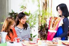 Азиат мода сознательная Стоковое Изображение RF