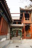 Азия Китай, Пекин, ¼ Œ architectureï ŒLandscape ¼ ï White Cloud Temple Стоковое Изображение RF