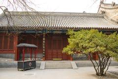 Азия Китай, Пекин, ¼ Œ architectureï ŒLandscape ¼ ï White Cloud Temple Стоковая Фотография