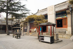 Азия Китай, Пекин, ¼ Œ architectureï ŒLandscape ¼ ï White Cloud Temple Стоковая Фотография RF