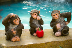 Азия Китай, Пекин, аграрная масленица, внутренняя обезьяна ŒCartoon ¼ landscapeï Стоковое Фото